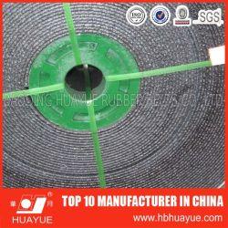 Qualité assurée Pvg PVC ensemble de la courroie du convoyeur de base largement utilisé dans la mine de charbon 630-1600n/mm