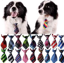 Legame stampato bello del cane degli accessori dell'animale domestico della cravatta del poliestere di prezzi di fabbrica
