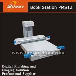 Tarjeta de papel fotográfico plastificado mini estación Fotos Libro de fotos Album Maker que hace la máquina del PMS12