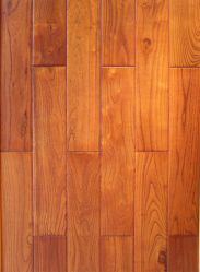 Lado Raspadas Teca Chinês (robinia) Engineered pisos em madeira