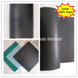 Material virgen ASTM Piscifactoría Pond Liner Geomembrana HDPE