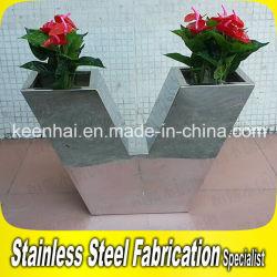 Le semoir en acier inoxydable sur mesure professionnels Pot de fleur Stand