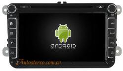 Android 4.4.4 Система навигации GPS для автомобилей VW видео