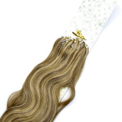 Mix Colour Micro Ring Loop Human Remy Hair Extension