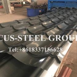 Toit de métal émaillés de feuille de carton ondulé d'acier/l'aluminium dans toutes les couleurs