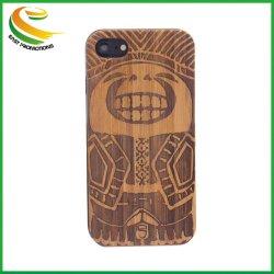 2019 Commerce de gros bois étui pour téléphone portable TPU pour iPhone 8