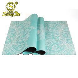 Alta qualidade de venda quente Fitness Eco-Friendly Suede Tapete de Yoga Fabric