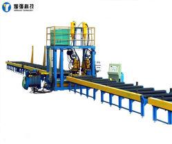 China Proveedor de la viga horizontal tipo H consisten en la línea de producción, montaje y soldadora