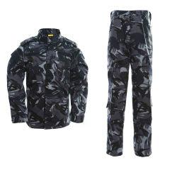 판매 육군 복장 착용 외투와 바지 위장 군 전술상 기어 한 벌을%s 위장 의류 사냥