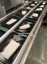 Les produits marins Les fruits de mer Le boeuf Beefsteak automatique vide de gros appareil de cuisine