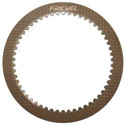 Piastra di attrito per applicazioni a umido in rame bronzo (6Y5914) per macchinari di ingegneria,