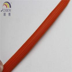 Cable trenzado de PET de 10 mm de malla trenzada expansible fundas