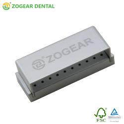 Di051-1 Zogear 30の穴歯科アルミニウムBurのブロック