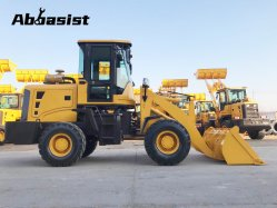 AL16 Compacta Mini articulados de 1.600 kg cargadora de ruedas delantera 1.6T