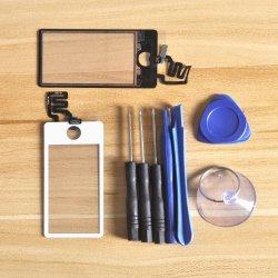 De Vervanging van het Merk van Sinbeda voor Scherm van 7 Aanraking van de Appel iPod Nano met Hulpmiddelen van de Volledige Assemblage van de Becijferaar de Zwarte of Wit + Vrije