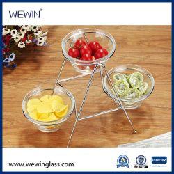 Cuencos de cristal decorativo con China Wholesale Bowls Ensaladeras de cristal Juegos