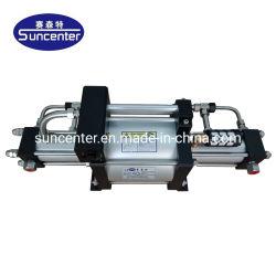 Azoto a doppia azione ad alta pressione Suncenter con azionamento a gas Pompa booster automatica