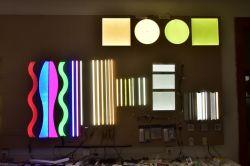 Forme personnalisée UL Lumisheet intérieure mince OEM 40W 3300lm Panneau lumineux à LED L'éclairage commercial