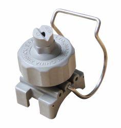 Quick release plate en plastique de lavage à eau pulvérisée Clip-Eyelet collier à billes buse du ventilateur