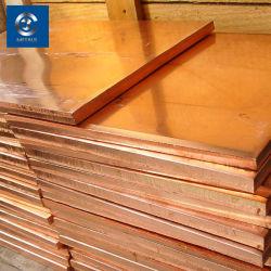 Pur à 99 % de la plaque de cuivre 4X8 (C10100, C11000, C12200, C21000, C22000, C23000, C24000)