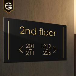 LEIDENE van de Zaal van het hotel Richting Holle Signage aantal-0423L van de Verlichting