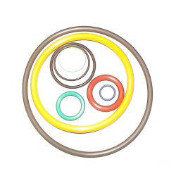 مانع تسرب مطاطي أصفر/أحمر/أخضر ناعم من الدرجة الغذائية السليكون/مضخة المياه حلقة دائرية