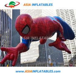 Надувные Super героя баллона, гигантские надувные Spider Man круглая насадка для взбивания