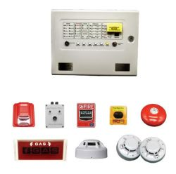 Сигнал тревоги газа огнетушитель на панели управления для тушения системы охранной сигнализации