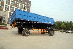 20 de Tippende Aanhangwagen van de Stortplaats van de Tractor van het Landbouwbedrijf van de ton