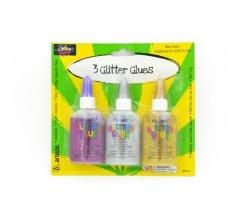 Les enfants de la carte d'Art Artisanat Décoration 3 paillettes de couleur de la colle