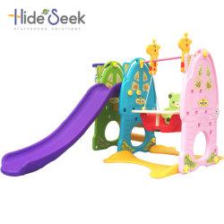 Trasparenza della famiglia di lusso di serie e giocattolo di plastica dell'oscillazione (HBS17018A)
