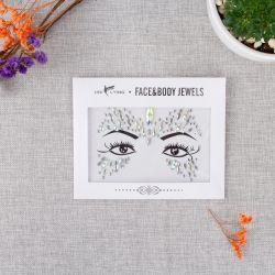Kundenspezifischer Kristalledelstein-Funkeln-Augen-Tätowierung-Großhandelsaufkleber