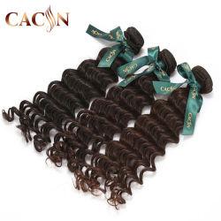 Parti profonde dei capelli umani di Remy dell'onda dei capelli peruviani