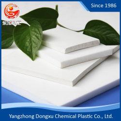 La meilleure qualité en Téflon PTFE/feuille Skived blanc