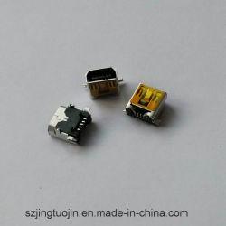 Mini USB 5p+Connecteur femelle CMS DIP