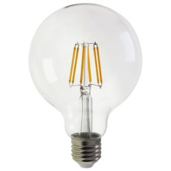 Une nouvelle énergie de l'enregistrement 4W/6W/8W Lampe à incandescence décorative mondial dirigé par l'éclairage