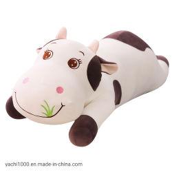 À la main le plus récent en peluche jouet en peluche vache personnalisé