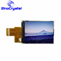 2.4 schermo dell'affissione a cristalli liquidi di colore dell'interfaccia di pollice TFT 240X320 RGB 10pin Hx8347 MCU 4-Line Spi