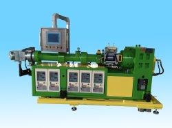 Einzelne Schrauben-kalter führender Vakuumtyp Gummistrangpresßling-Maschine, Gummiextruder, kontinuierliche Strangpresßling-Vulkanisierung-Gummimaschine