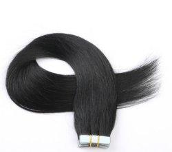 На заводе пользовательских прав волосы прямые органом Бразилии кривой европейский стиль волос во Вьетнаме и PU ленту в диагностическом приборе Clip в волосы добавочный номер