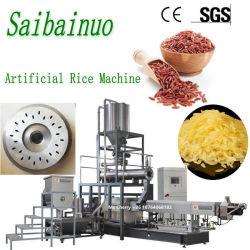 Doppelschraube gebrochene künstliche Reis-Strangpresßling-Nahrungsmittelmaschinerie