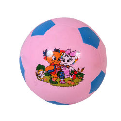 BSCI vierge ou de vérification 1 Logo couleur ou d'impression logo coloré de tailles différentes écologique de jouets pour enfants Mini ballon de soccer