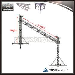 Torre de serrilha de elevação da armação de alumínio tela LED Truss
