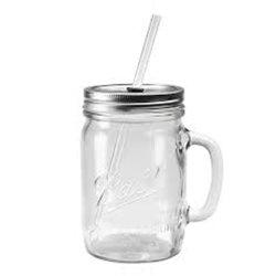 De goedkope Grote Fles van het Glas van de Kruiken van de Metselaar van de Jam van de Kruik van de Opslag van het Voedsel van de Keuken van het Glas Inblikkende