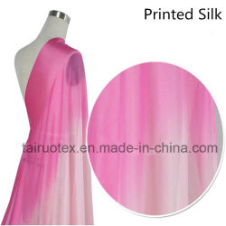 100% шелк и шифон шелк для леди платье ткань