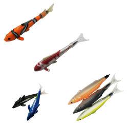 Caneta de plástico em forma de peixe de curta distância, do Artesanato Caneta neutro