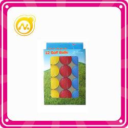 Coloridos juguetes Bola de Golf de 3,6 cm.