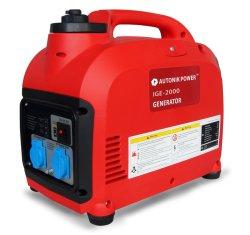 Economia Digital Double-Frequency 2000W gerador, 4 tempos, Tipo de combustível gasolina super leve e portátil tranquila Gerador do inversor
