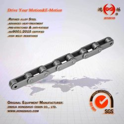 La cadena rodillo cadena reforzada de la cadena transportadora de paso doble C2102h