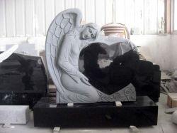 Monumento & pietra tombale di pietra del Headstone di angelo del granito